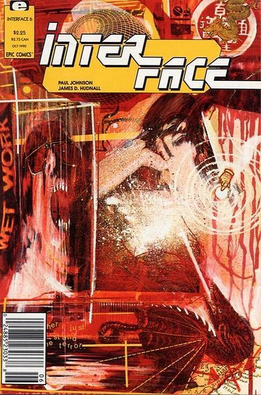 Cover of Interface #6. One of 250,000 Vintage American Comics on sale from Krypton!