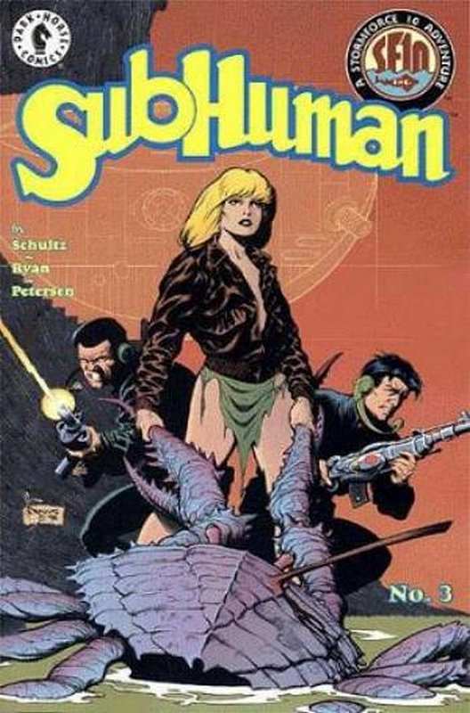 Cover of Subhuman (1998 Ltd) #3. One of 250,000 Vintage American Comics on sale from Krypton!