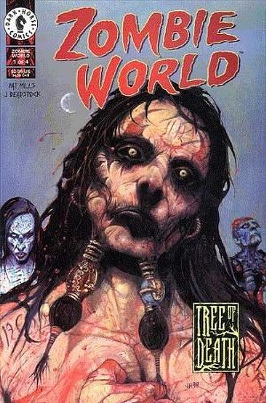 Cover of Zombie World: Tree of Death (1999 Ltd) #1. One of 250,000 Vintage American Comics on sale from Krypton!