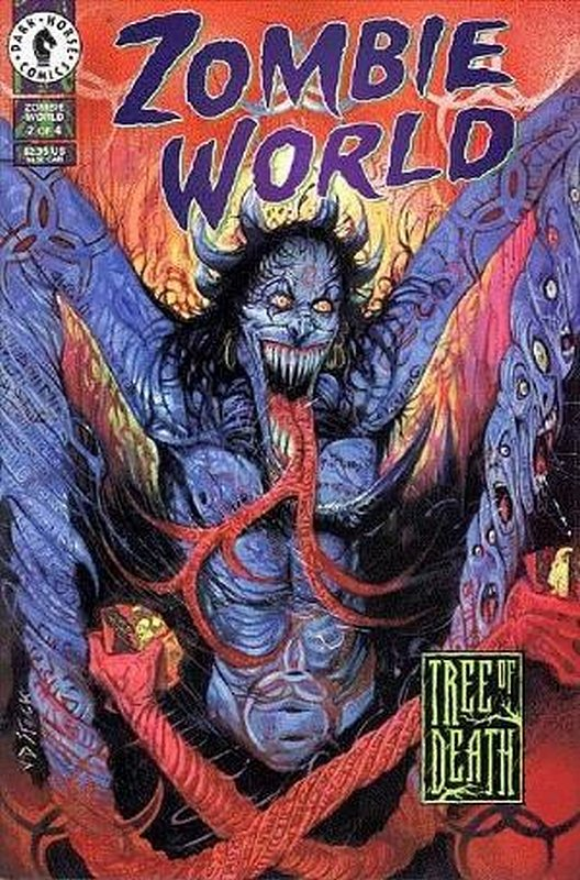 Cover of Zombie World: Tree of Death (1999 Ltd) #2. One of 250,000 Vintage American Comics on sale from Krypton!