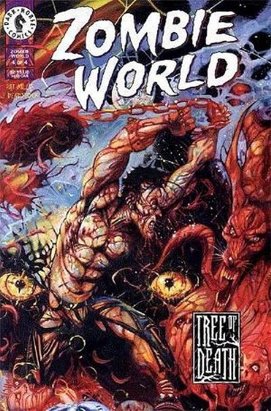 Cover of Zombie World: Tree of Death (1999 Ltd) #4. One of 250,000 Vintage American Comics on sale from Krypton!