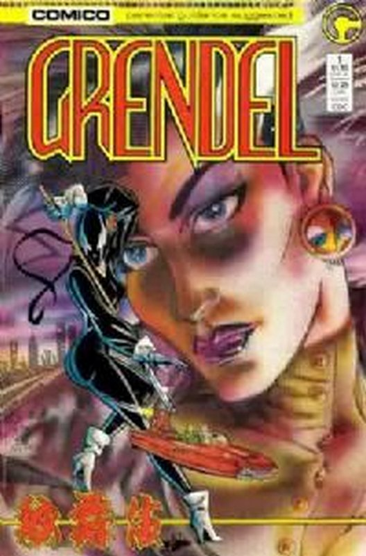 Cover of Grendel (Vol 2) #1. One of 250,000 Vintage American Comics on sale from Krypton!