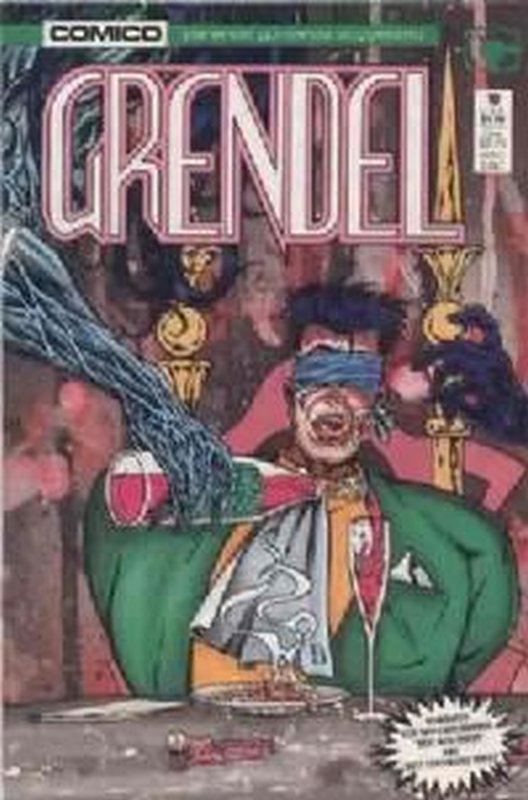 Cover of Grendel (Vol 2) #10. One of 250,000 Vintage American Comics on sale from Krypton!