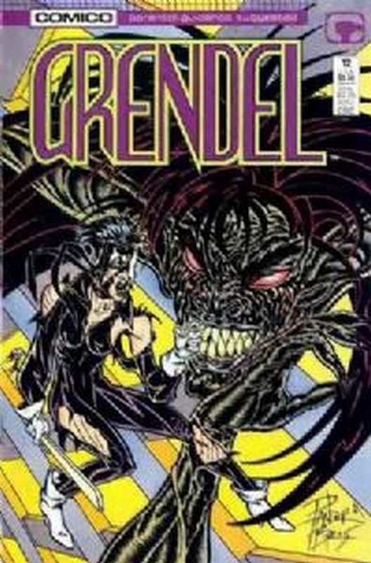 Cover of Grendel (Vol 2) #12. One of 250,000 Vintage American Comics on sale from Krypton!