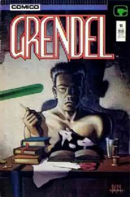 Cover of Grendel (Vol 2) #13. One of 250,000 Vintage American Comics on sale from Krypton!