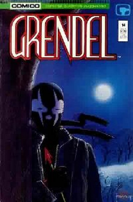 Cover of Grendel (Vol 2) #14. One of 250,000 Vintage American Comics on sale from Krypton!