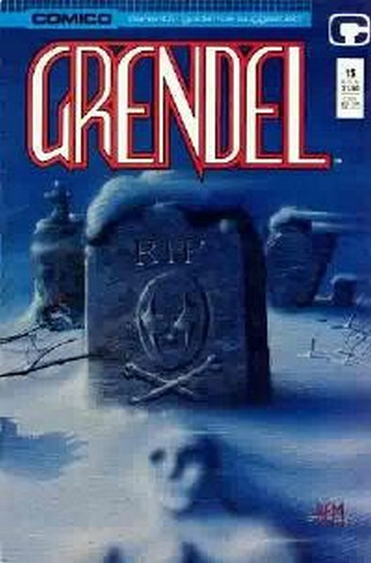Cover of Grendel (Vol 2) #15. One of 250,000 Vintage American Comics on sale from Krypton!