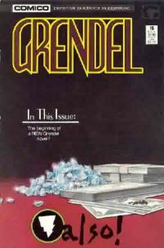 Cover of Grendel (Vol 2) #16. One of 250,000 Vintage American Comics on sale from Krypton!