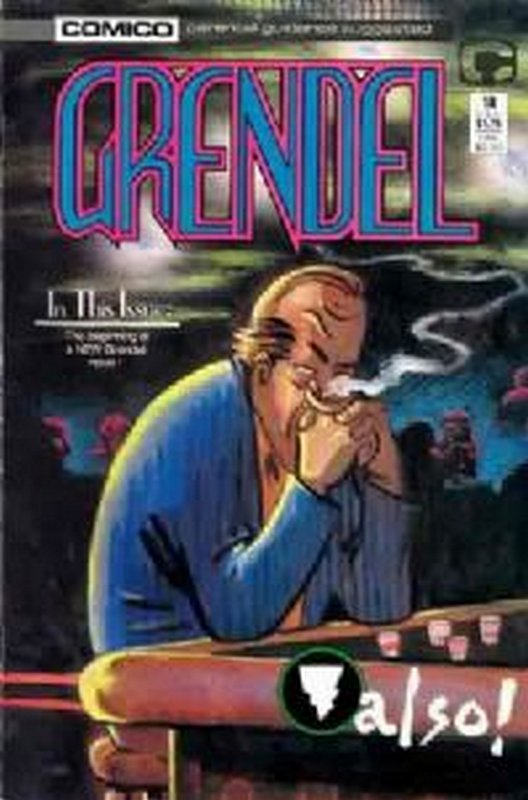 Cover of Grendel (Vol 2) #18. One of 250,000 Vintage American Comics on sale from Krypton!