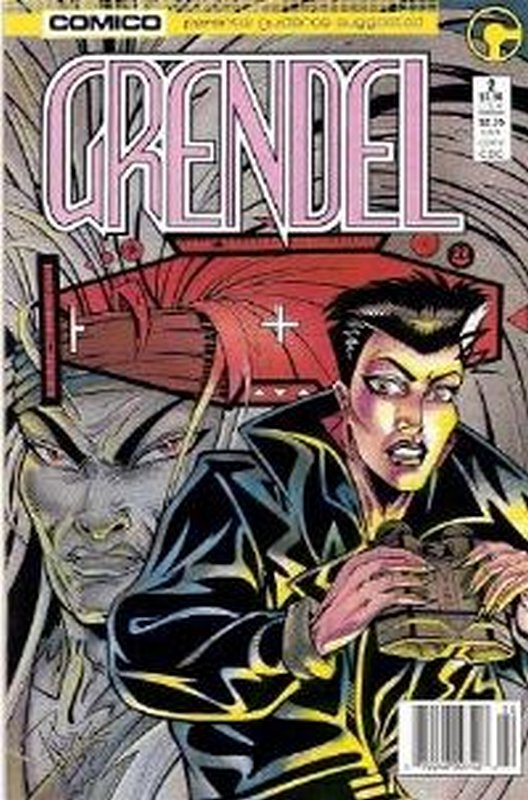 Cover of Grendel (Vol 2) #2. One of 250,000 Vintage American Comics on sale from Krypton!