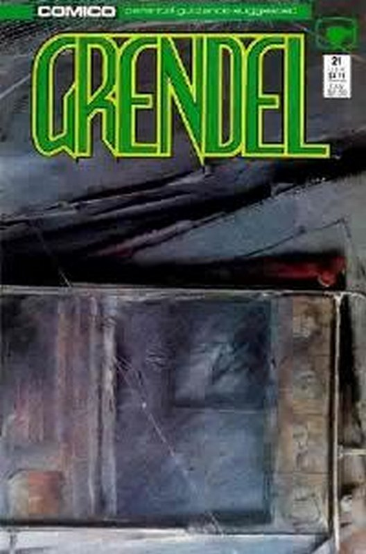 Cover of Grendel (Vol 2) #21. One of 250,000 Vintage American Comics on sale from Krypton!