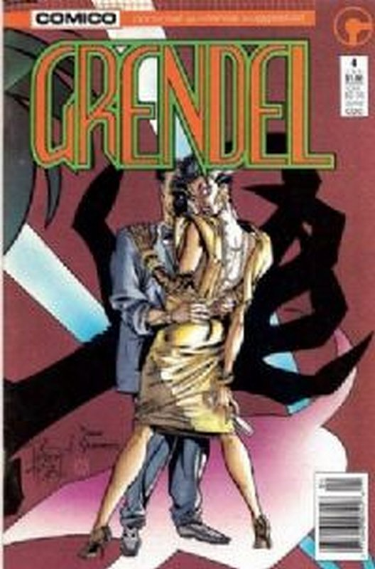 Cover of Grendel (Vol 2) #4. One of 250,000 Vintage American Comics on sale from Krypton!