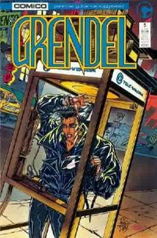 Cover of Grendel (Vol 2) #5. One of 250,000 Vintage American Comics on sale from Krypton!