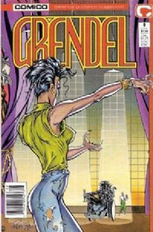 Cover of Grendel (Vol 2) #8. One of 250,000 Vintage American Comics on sale from Krypton!