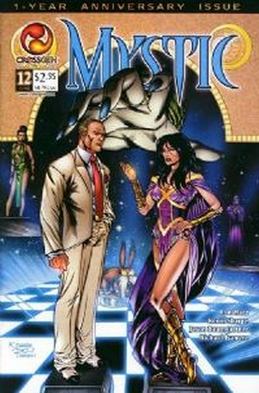 Cover of Mystic #12. One of 250,000 Vintage American Comics on sale from Krypton!
