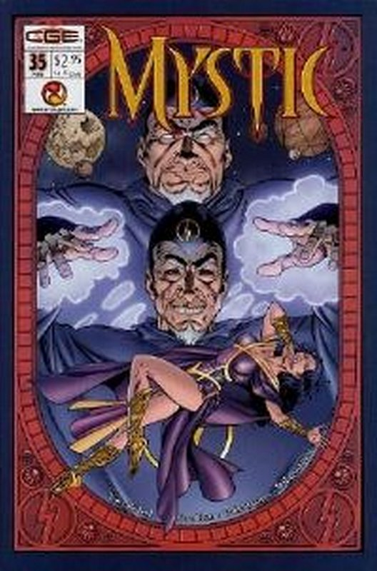 Cover of Mystic #35. One of 250,000 Vintage American Comics on sale from Krypton!