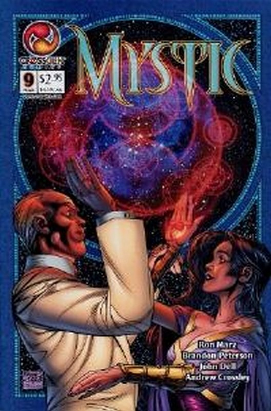Cover of Mystic #9. One of 250,000 Vintage American Comics on sale from Krypton!