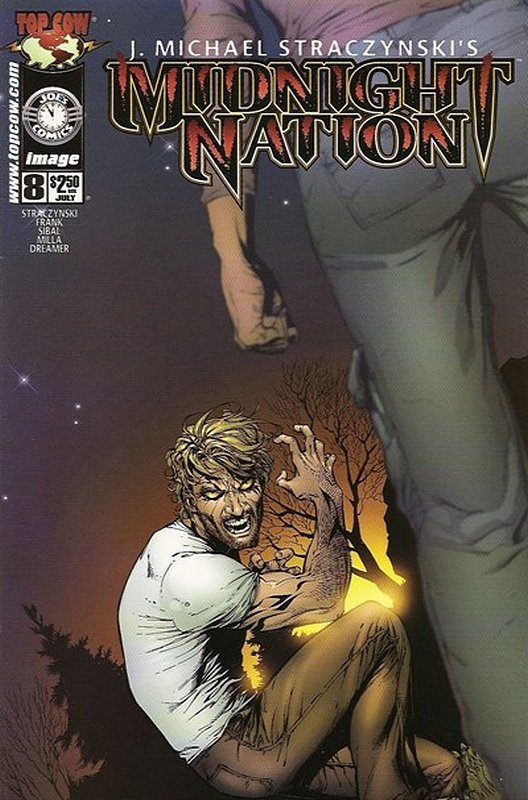Cover of Midnight Nation (Vol 1) #8. One of 250,000 Vintage American Comics on sale from Krypton!