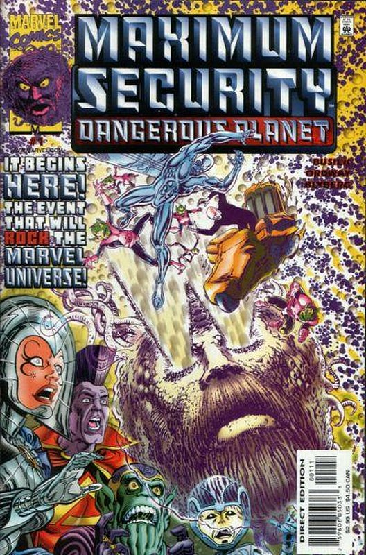 Cover of Maximum Security: Dangerous Planet #1. One of 250,000 Vintage American Comics on sale from Krypton!