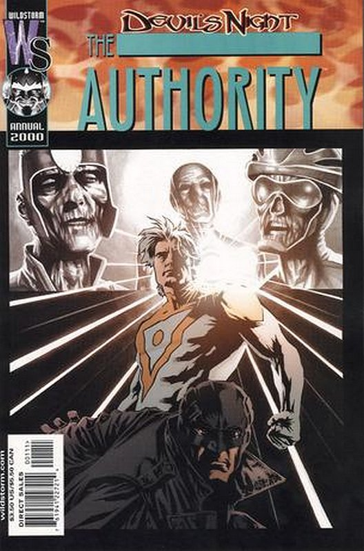 Cover of Authority Annual (2000) #1. One of 250,000 Vintage American Comics on sale from Krypton!