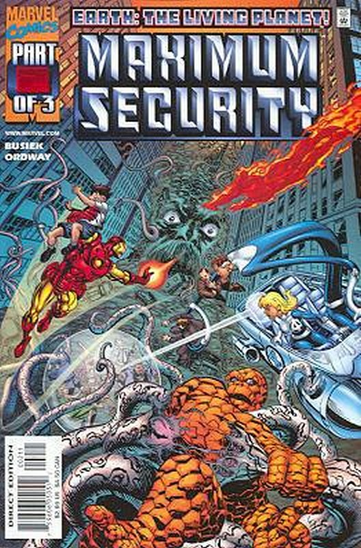 Cover of Maximum Security (2000 Ltd) #2. One of 250,000 Vintage American Comics on sale from Krypton!