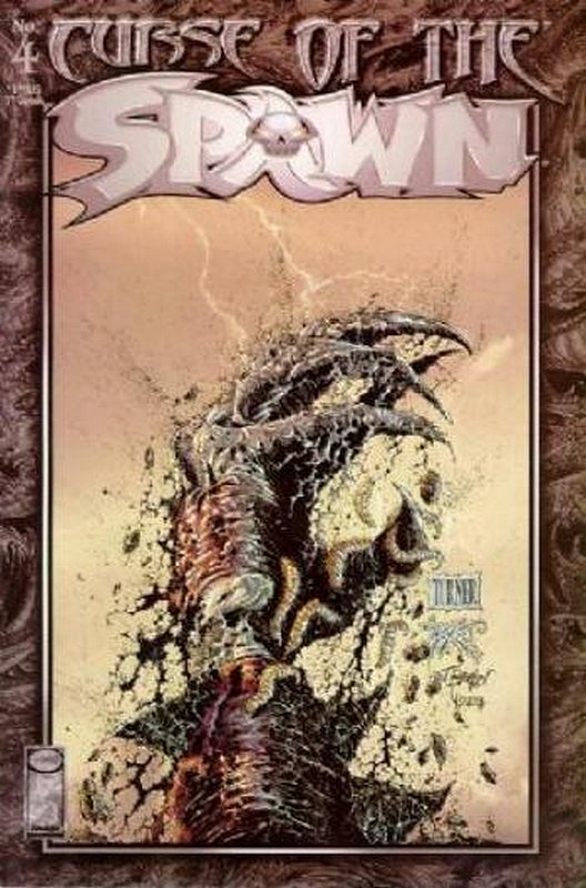 Cover of Curse of Spawn (Vol 1) #4. One of 250,000 Vintage American Comics on sale from Krypton!