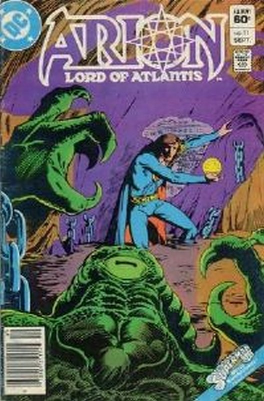 Cover of Arion: Lord of Atlantis (Vol 1) #11. One of 250,000 Vintage American Comics on sale from Krypton!