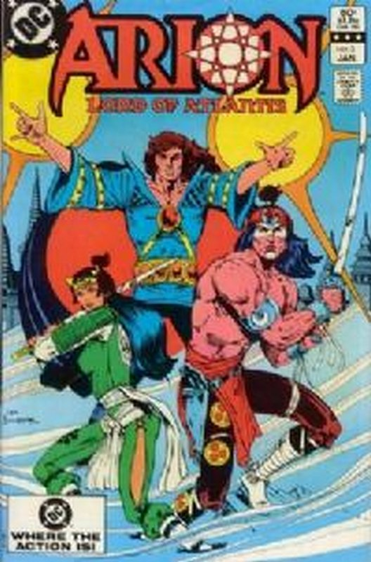 Cover of Arion: Lord of Atlantis (Vol 1) #3. One of 250,000 Vintage American Comics on sale from Krypton!
