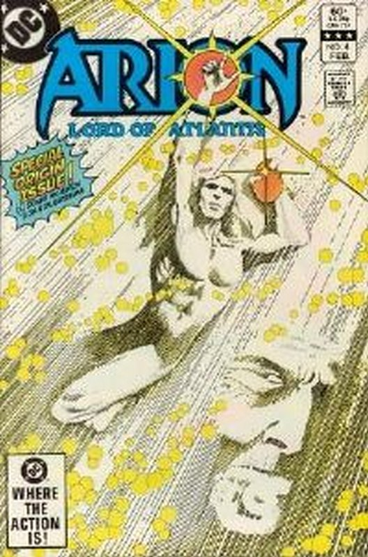 Cover of Arion: Lord of Atlantis (Vol 1) #4. One of 250,000 Vintage American Comics on sale from Krypton!