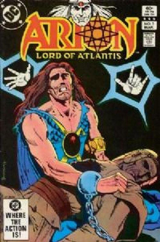 Cover of Arion: Lord of Atlantis (Vol 1) #5. One of 250,000 Vintage American Comics on sale from Krypton!