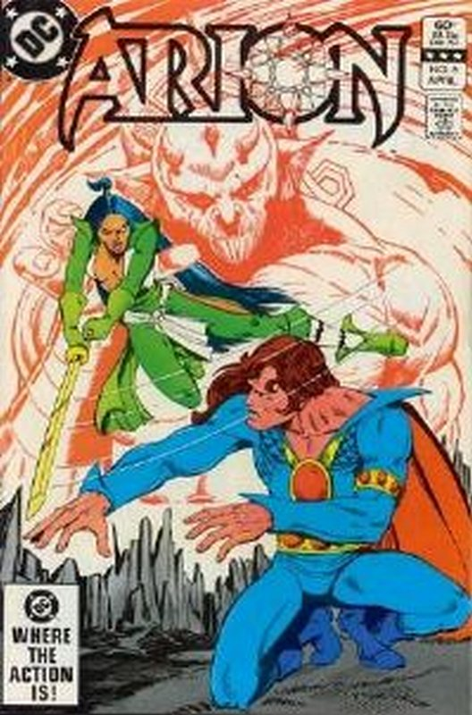 Cover of Arion: Lord of Atlantis (Vol 1) #6. One of 250,000 Vintage American Comics on sale from Krypton!