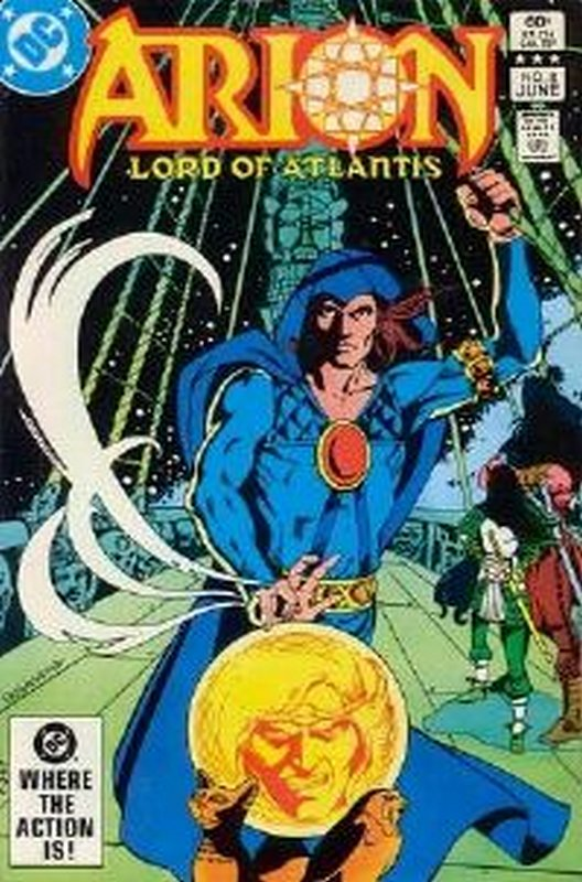 Cover of Arion: Lord of Atlantis (Vol 1) #8. One of 250,000 Vintage American Comics on sale from Krypton!