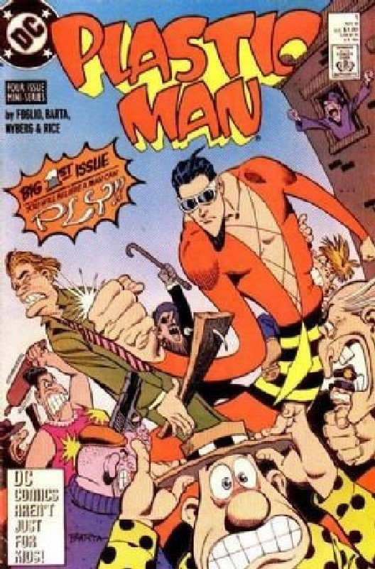Cover of Plastic Man (1988 Ltd) #1. One of 250,000 Vintage American Comics on sale from Krypton!