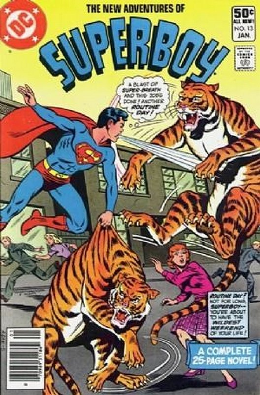 Cover of Superboy - The New Adventures of #13. One of 250,000 Vintage American Comics on sale from Krypton!