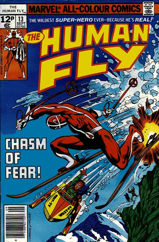 Cover of Human Fly (Vol 1) #13. One of 250,000 Vintage American Comics on sale from Krypton!
