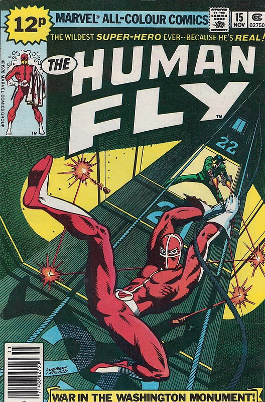 Cover of Human Fly (Vol 1) #15. One of 250,000 Vintage American Comics on sale from Krypton!