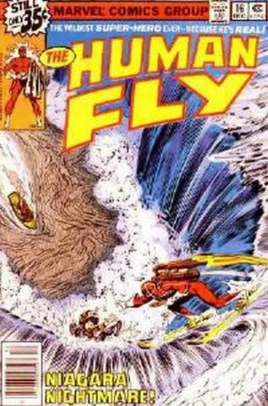 Cover of Human Fly (Vol 1) #16. One of 250,000 Vintage American Comics on sale from Krypton!