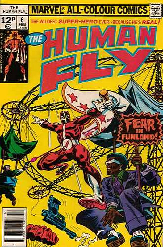 Cover of Human Fly (Vol 1) #6. One of 250,000 Vintage American Comics on sale from Krypton!