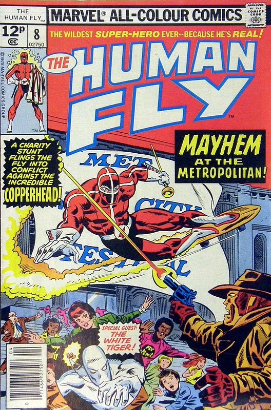 Cover of Human Fly (Vol 1) #8. One of 250,000 Vintage American Comics on sale from Krypton!