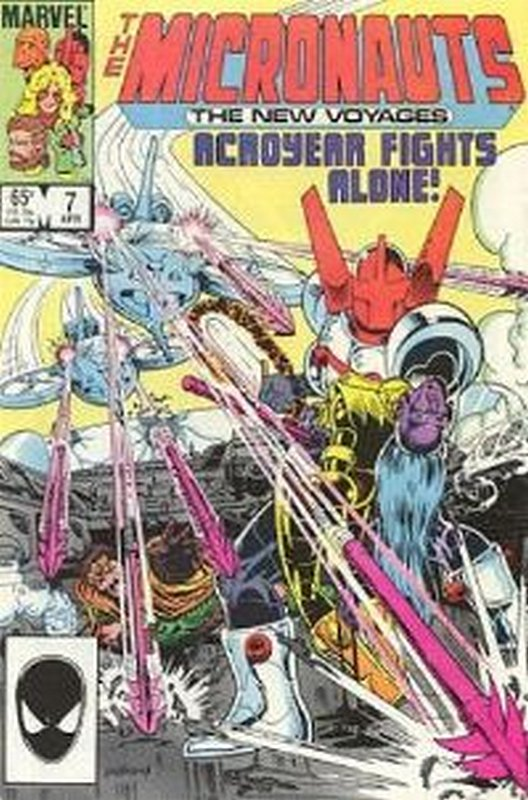 Cover of Micronauts (Vol 2) The New Voyages #7. One of 250,000 Vintage American Comics on sale from Krypton!
