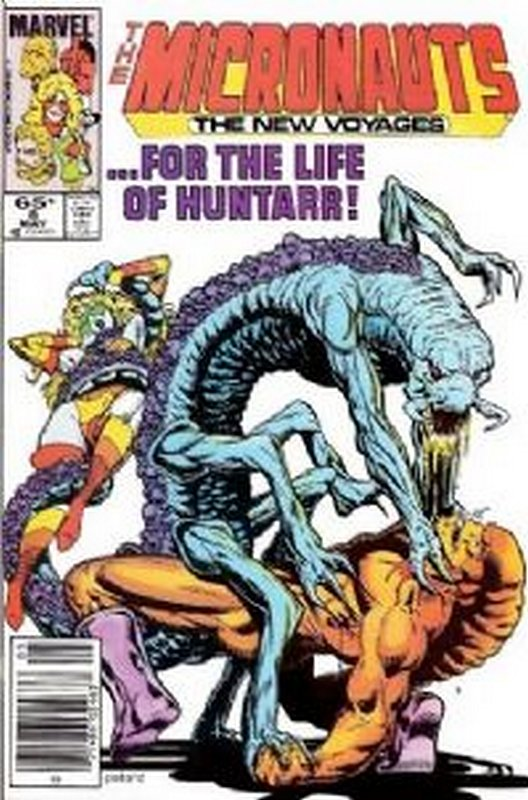 Cover of Micronauts (Vol 2) The New Voyages #8. One of 250,000 Vintage American Comics on sale from Krypton!