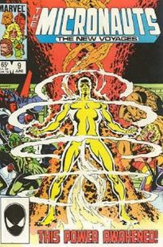 Cover of Micronauts (Vol 2) The New Voyages #9. One of 250,000 Vintage American Comics on sale from Krypton!