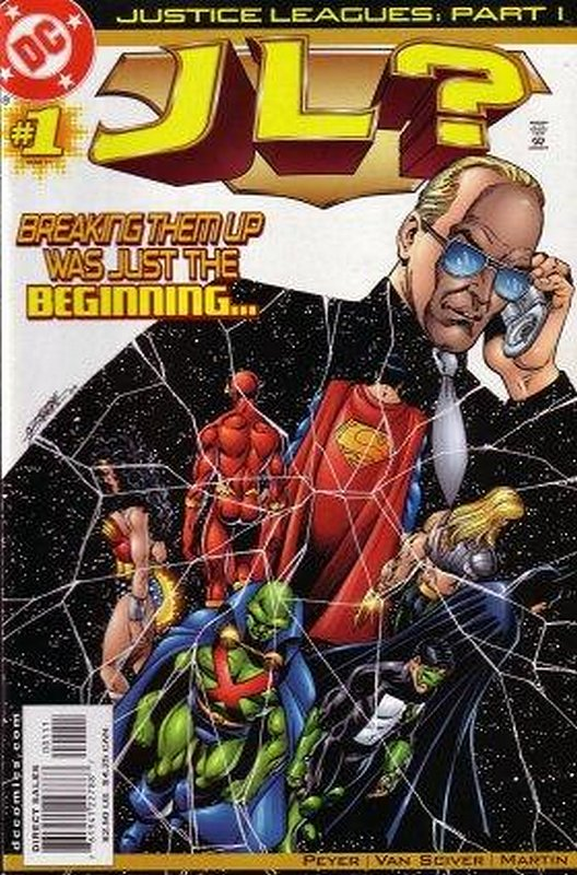 Cover of Justice Leagues: JL? (2001 One Shot) #1. One of 250,000 Vintage American Comics on sale from Krypton!