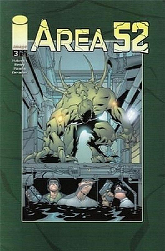 Cover of Area 52 (Vol 1) #3. One of 250,000 Vintage American Comics on sale from Krypton!