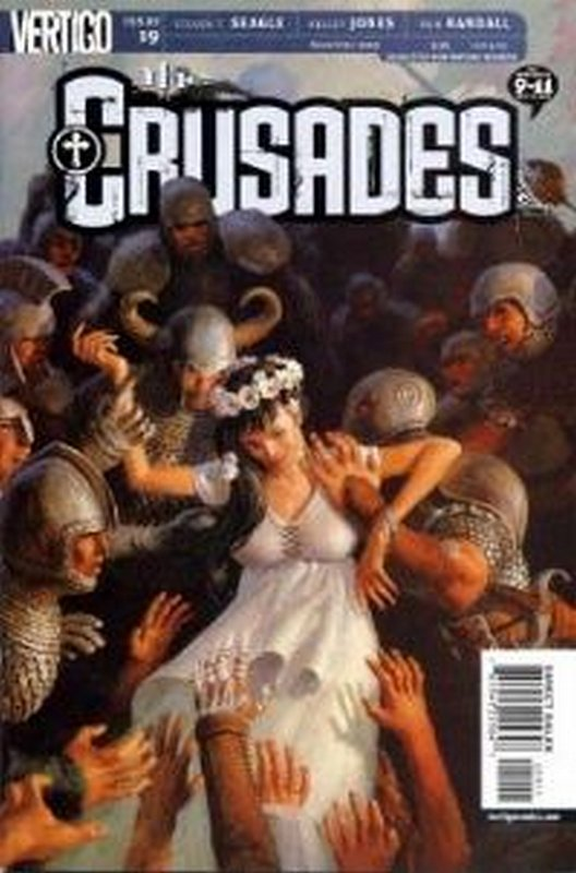 Cover of Crusades #19. One of 250,000 Vintage American Comics on sale from Krypton!