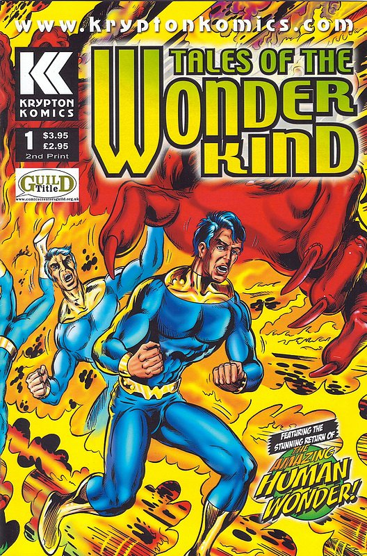 Cover of Tales of the Wonder Kind #1. One of 250,000 Vintage American Comics on sale from Krypton!