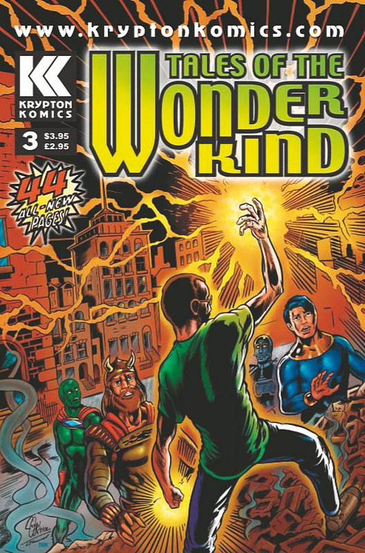 Cover of Tales of the Wonder Kind #3. One of 250,000 Vintage American Comics on sale from Krypton!