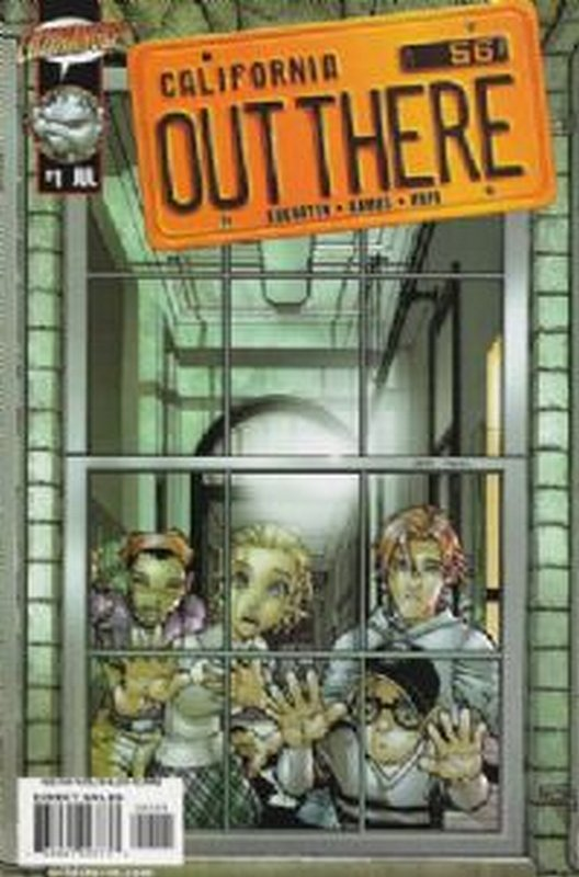 Cover of Out There (Vol 1) California #1. One of 250,000 Vintage American Comics on sale from Krypton!