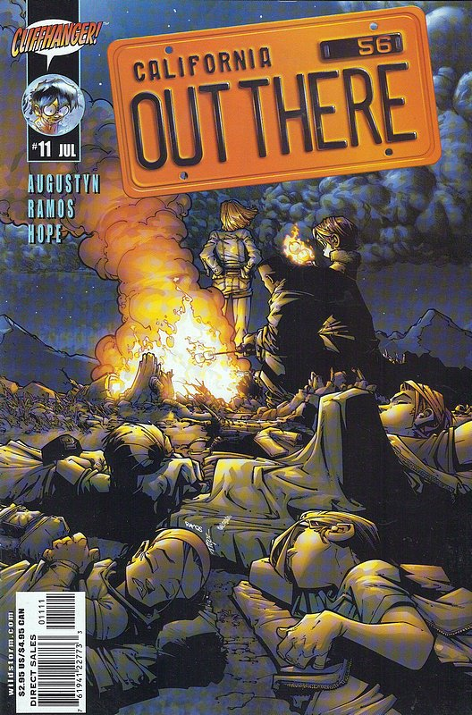 Cover of Out There (Vol 1) California #11. One of 250,000 Vintage American Comics on sale from Krypton!