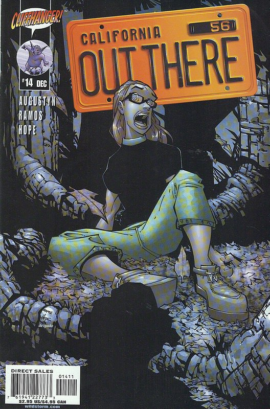 Cover of Out There (Vol 1) California #14. One of 250,000 Vintage American Comics on sale from Krypton!
